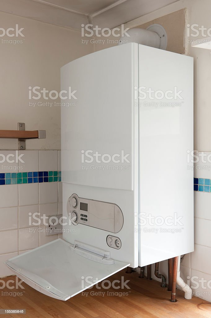 Combination Boiler stock photo