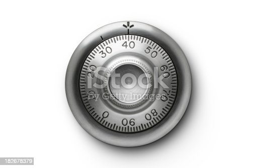 Old combination lock. Please see some similar pictures from my portfolio:
