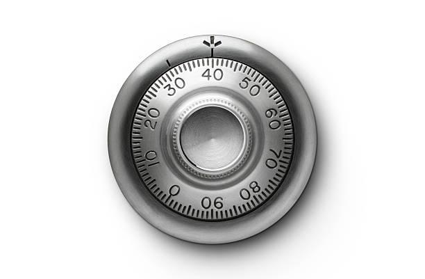 combination lock. - brandkast beveiligingsapparatuur stockfoto's en -beelden