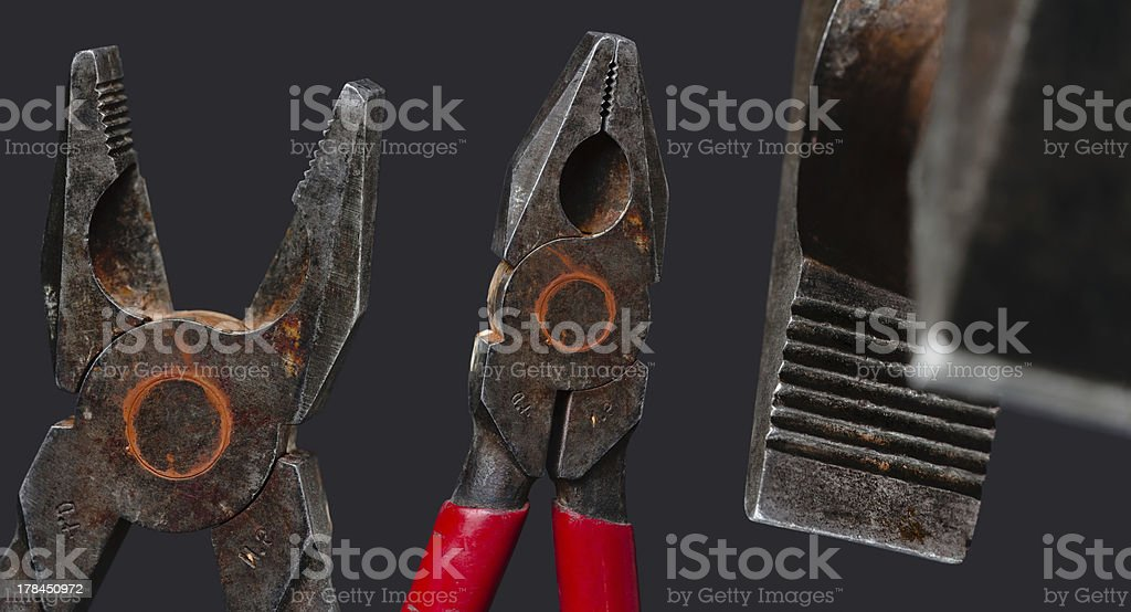 Combination pliers royalty-free stock photo