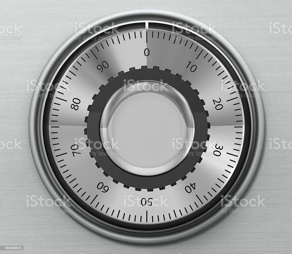 combination safe lock stock photo
