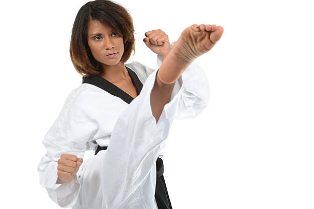 combinations - martial arts gerville stock pictures, royalty-free photos & images