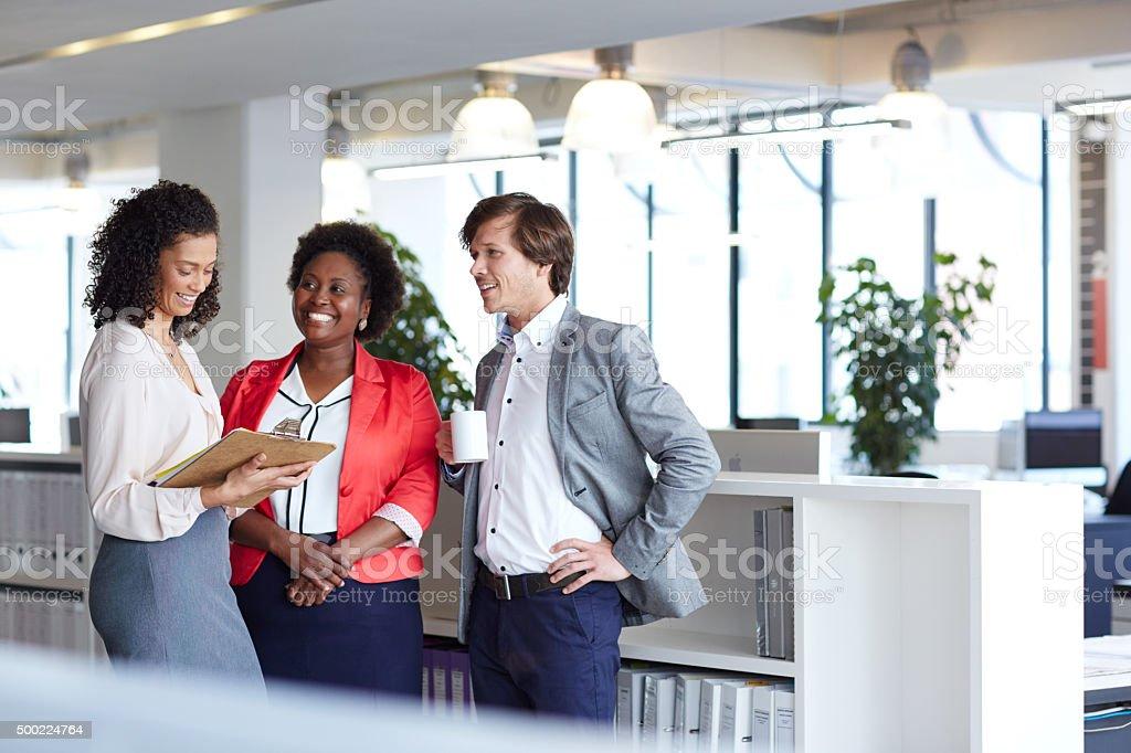 Associant les connaissances et l'expertise pour les meilleurs résultats - Photo