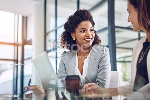 istock Combining their skills for success 672906402