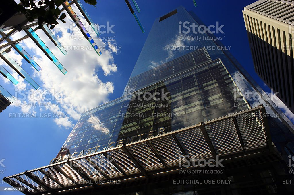 Comcast Center stock photo