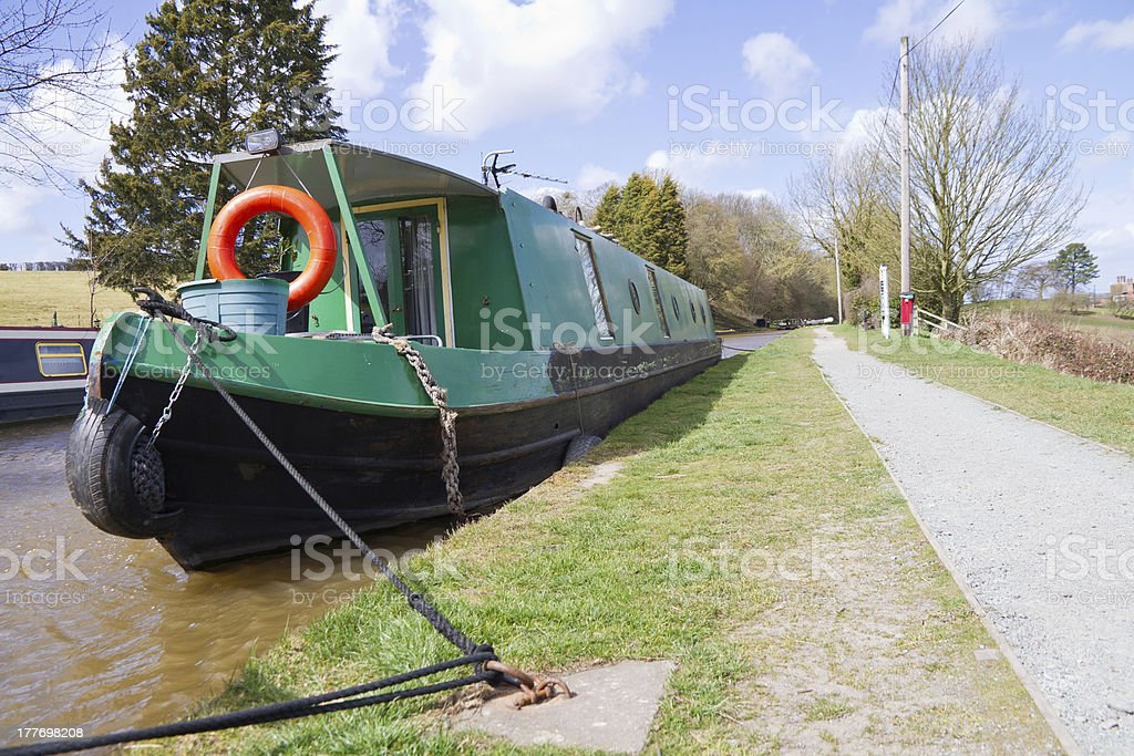 Come aboard royalty-free stock photo