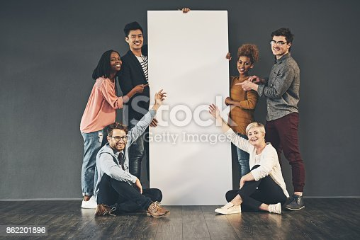 istock Come and display your amazing idea here 862201896