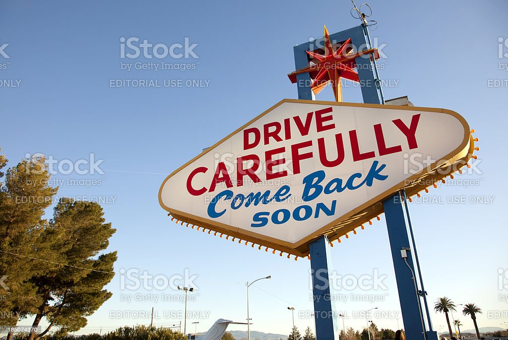 Come back soon royalty-free stock photo