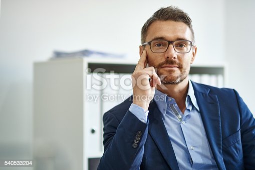 istock Come closer and I'll tell you the secret to success 540533204