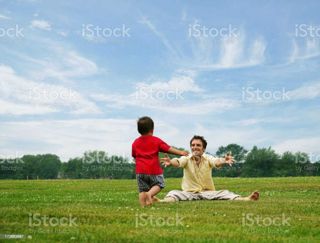 Come here royalty-free stock photo