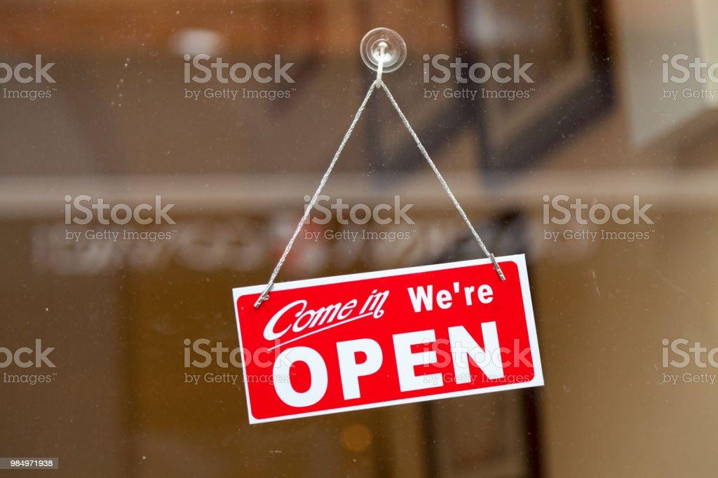 Venez, nous sommes ouverts - Photo