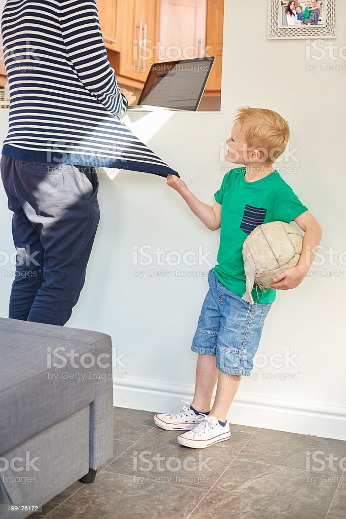 come on dad lets play stock photo