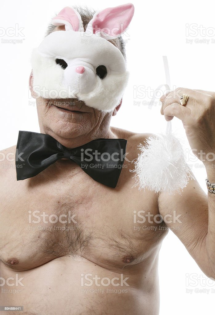 Come on! I won't wear this! royalty-free stock photo