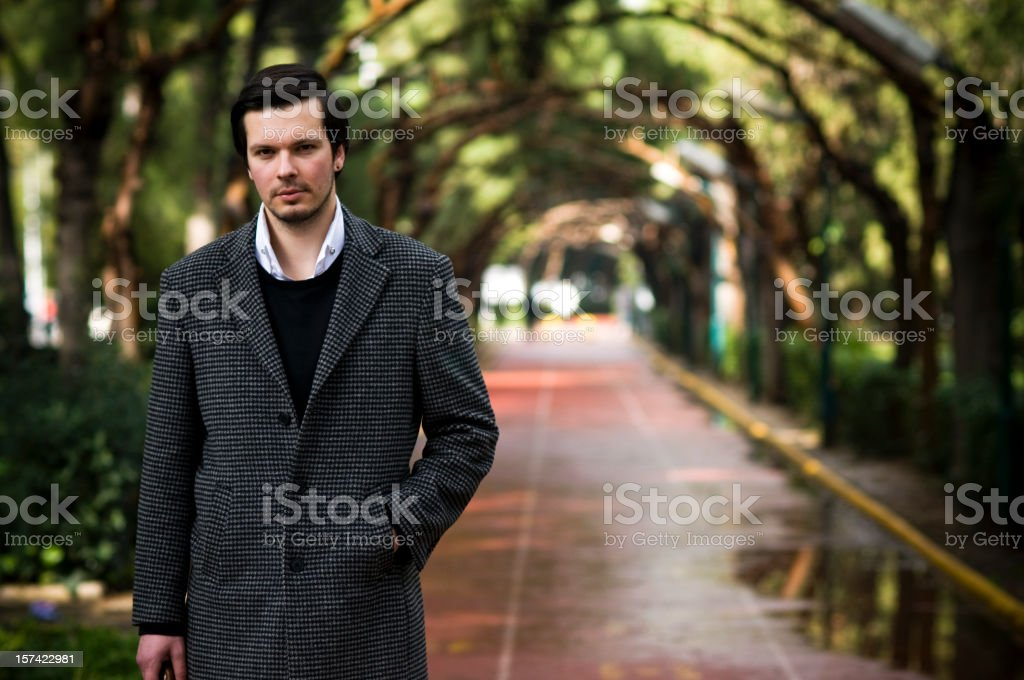 Come Rain Or Shine royalty-free stock photo