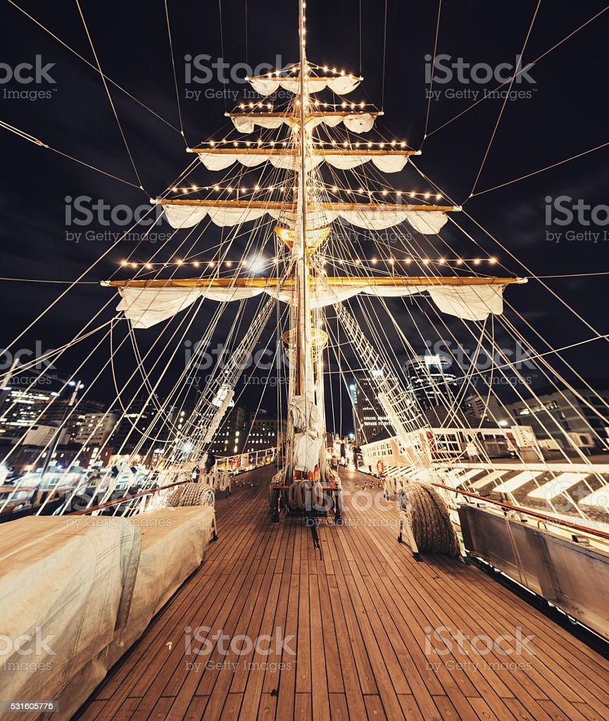 Come Sail Away stock photo