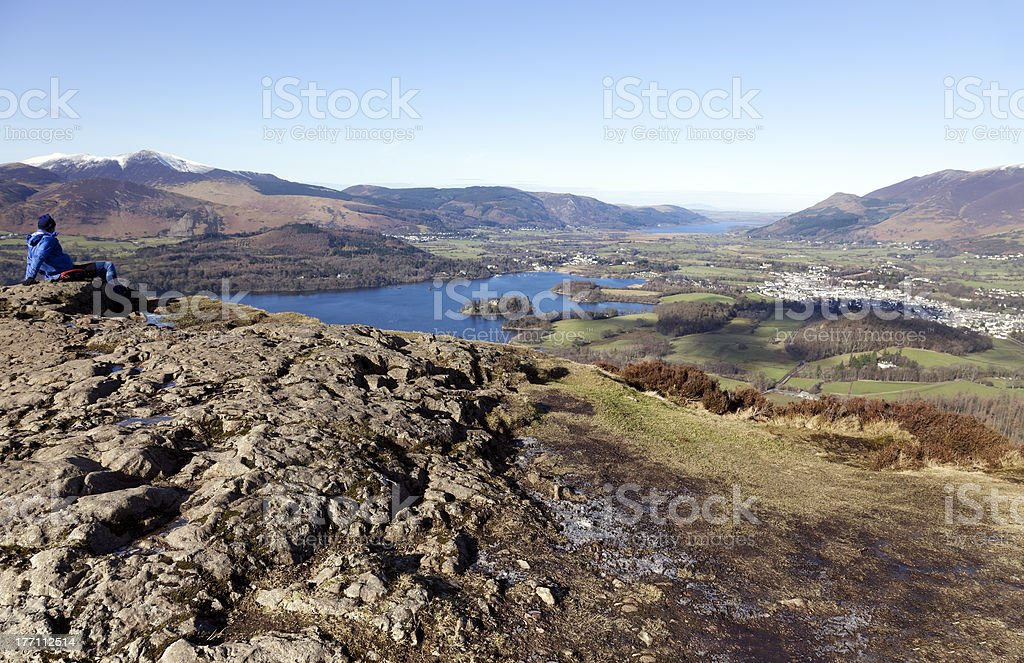 Come to the Lake District stock photo