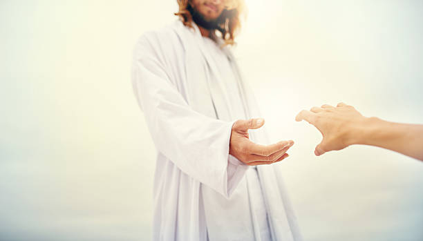 Come, you who are blessed by the Lord stock photo