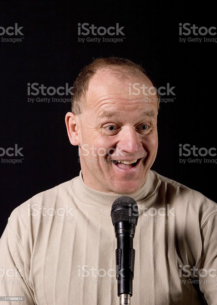 Comedian # 4 royalty-free stock photo