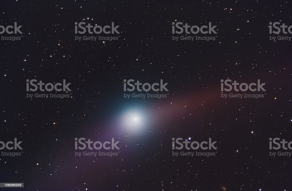Comet Garrad royalty-free stock photo