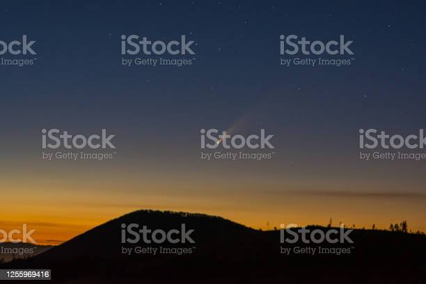 Photo of Comet Neowise. Europe. Slovakia. Astrophotography. Universe._.