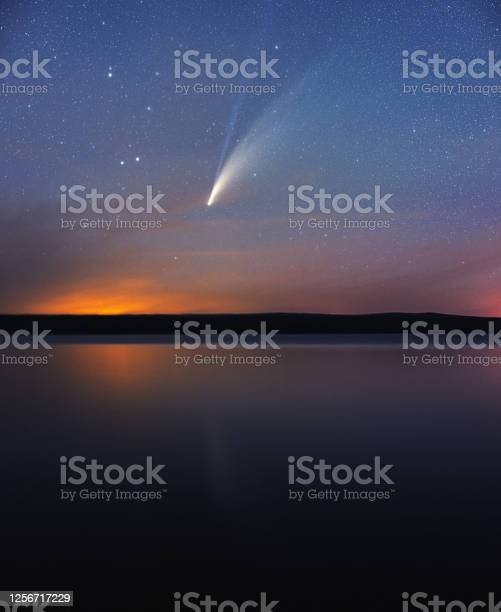 Photo of Comet NEOWISE