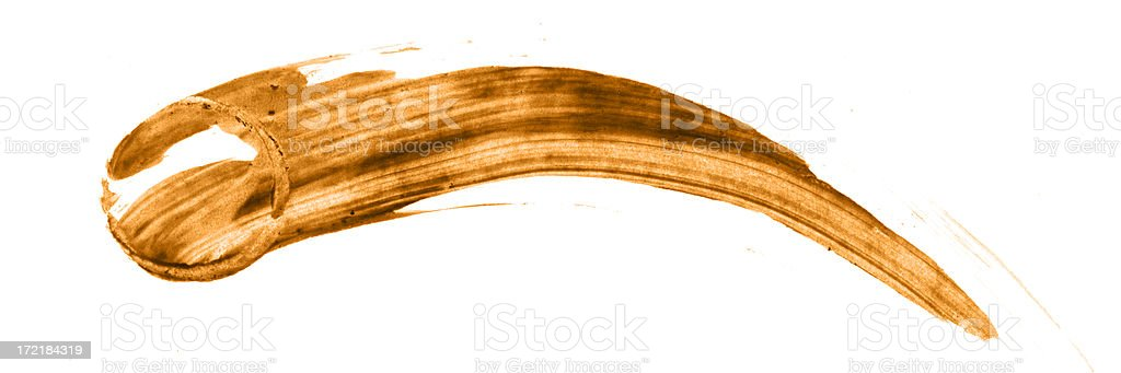 Comet smear royalty-free stock photo