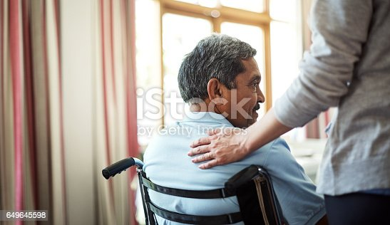 istock Comfort and care will always be near 649645598