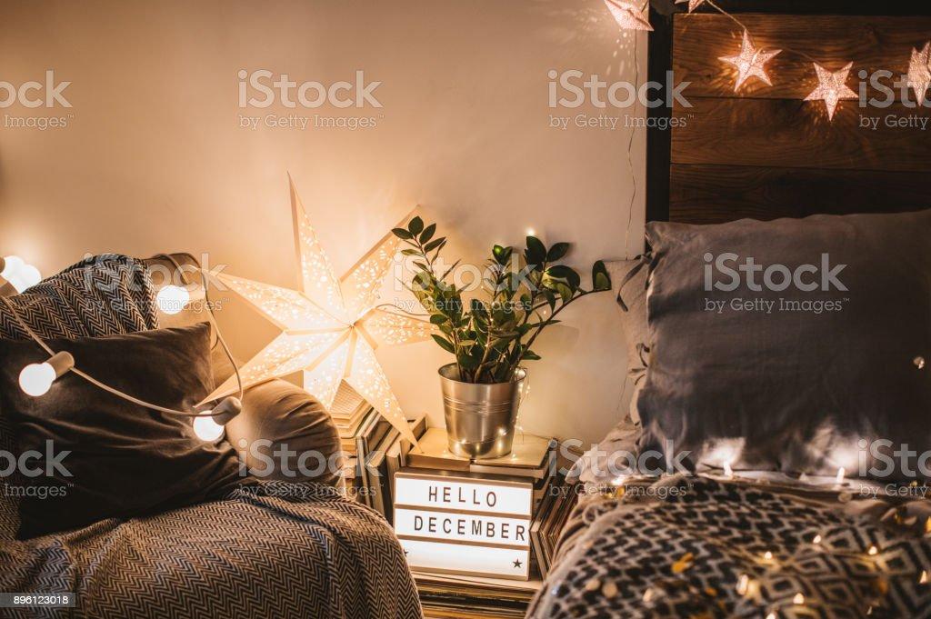 Comfort and joy stock photo