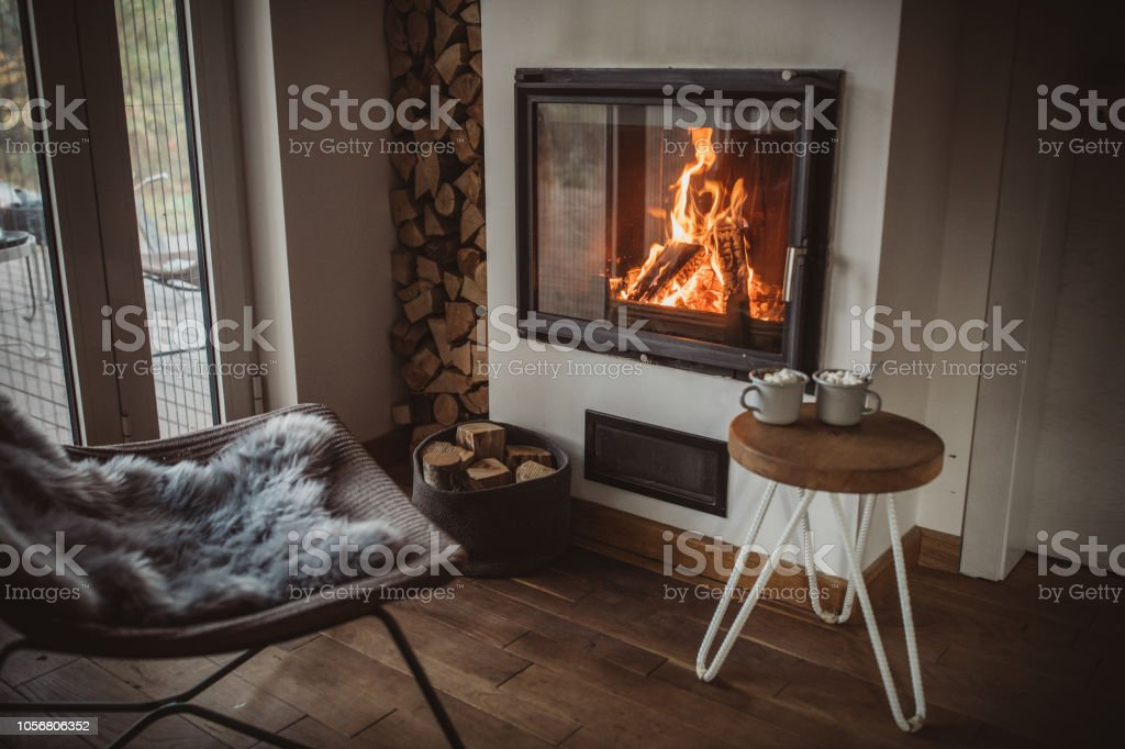 Comfort of home stock photo