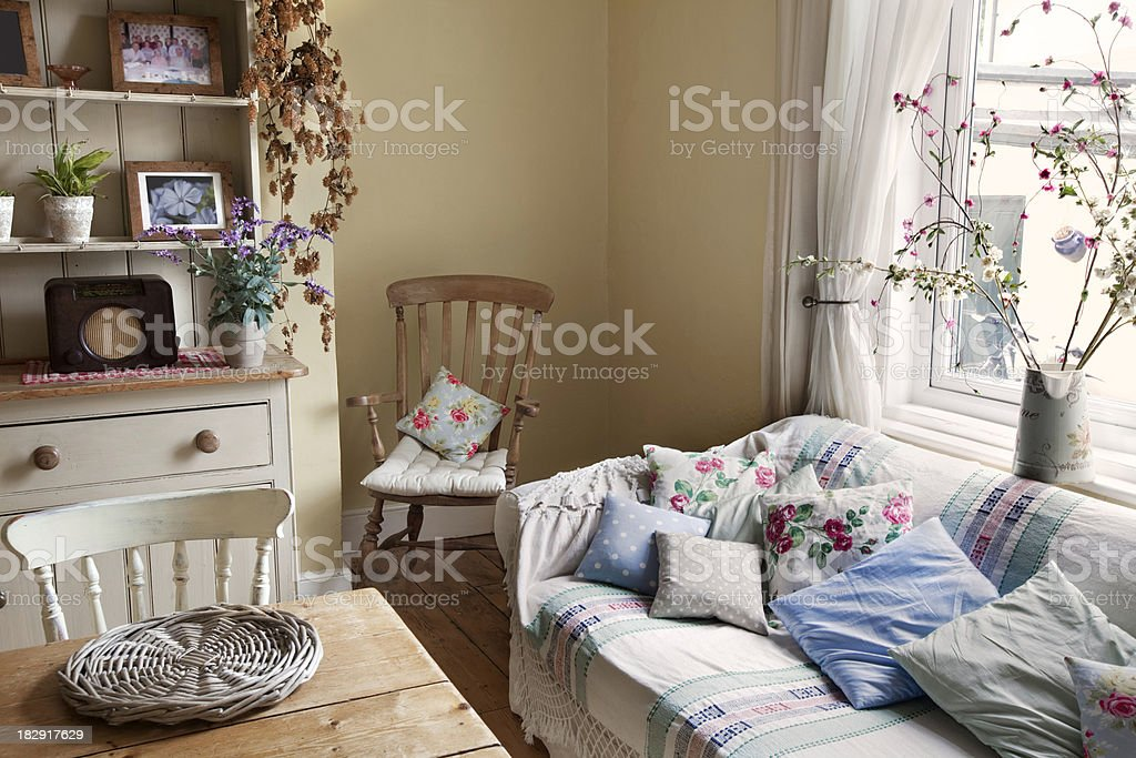 Comfortable breakfast room stock photo