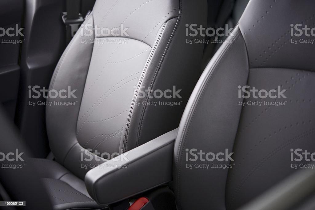 Comfortable Car Seats stock photo