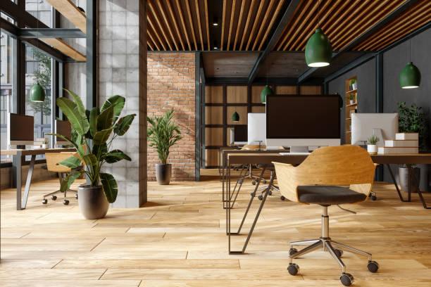 快適なコワーキングスペース。 - オフィス ストックフォトと画像