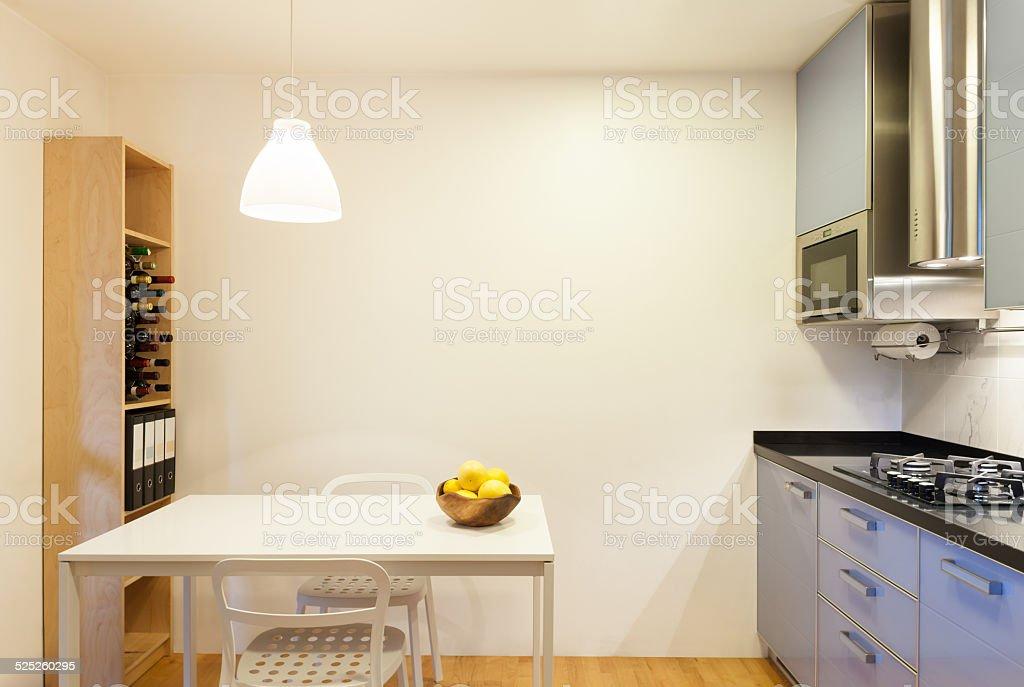 comfortable domestic kitchen stock photo