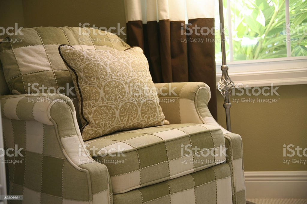 Comfortable Easy Chair royalty-free stock photo