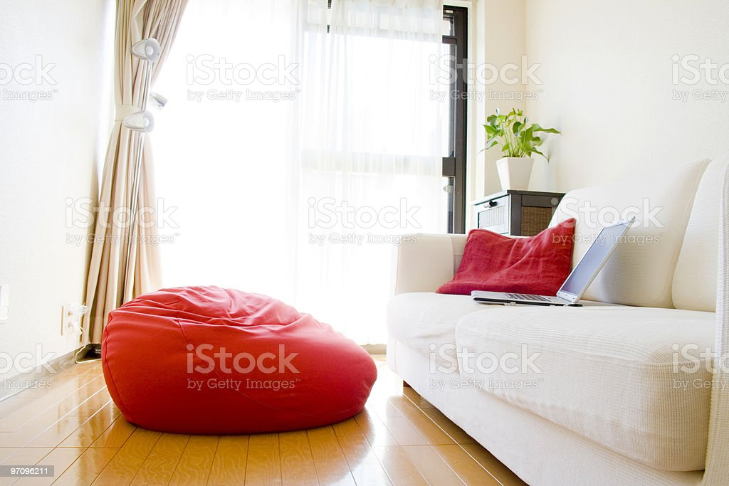Comfortable Living-room stock photo