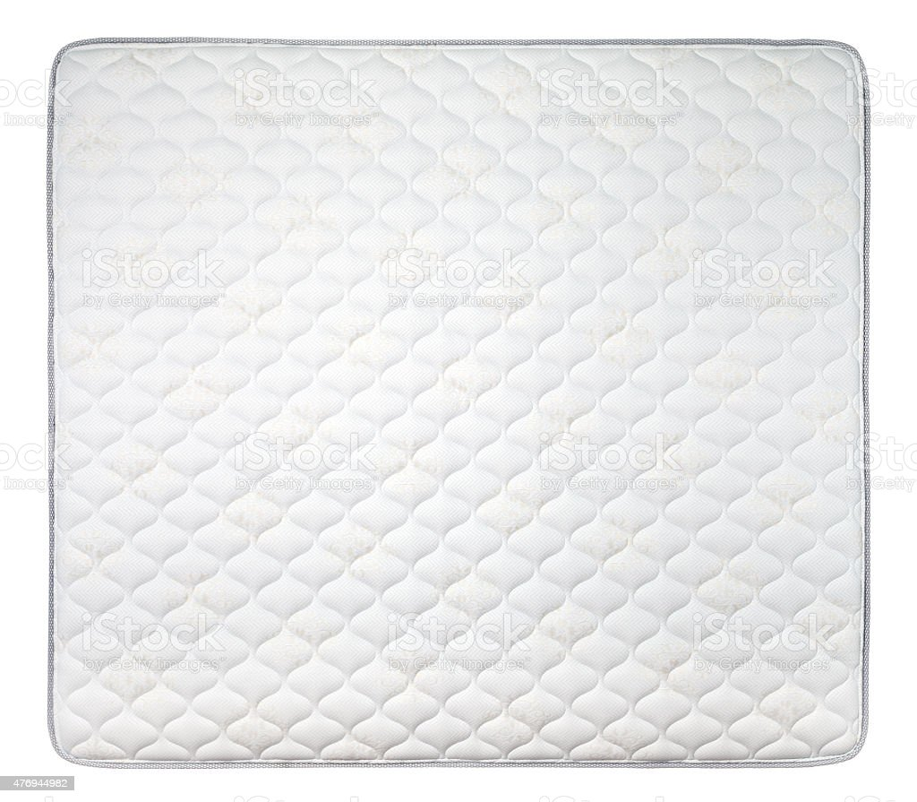 Comfortable mattress stock photo