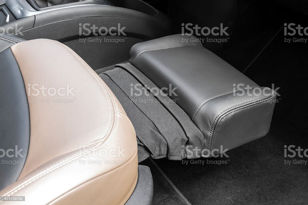 Comfortable seating stock photo