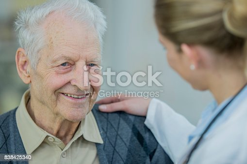 istock Comforting Doctor 838425340