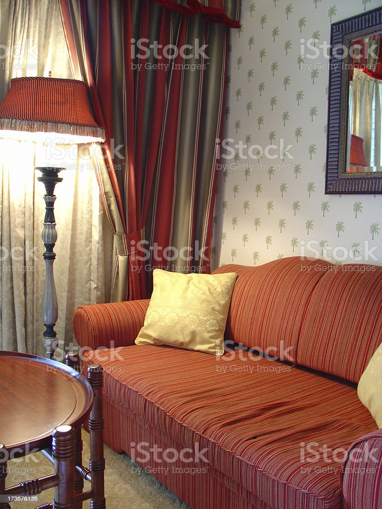 comfy couch royalty-free stock photo
