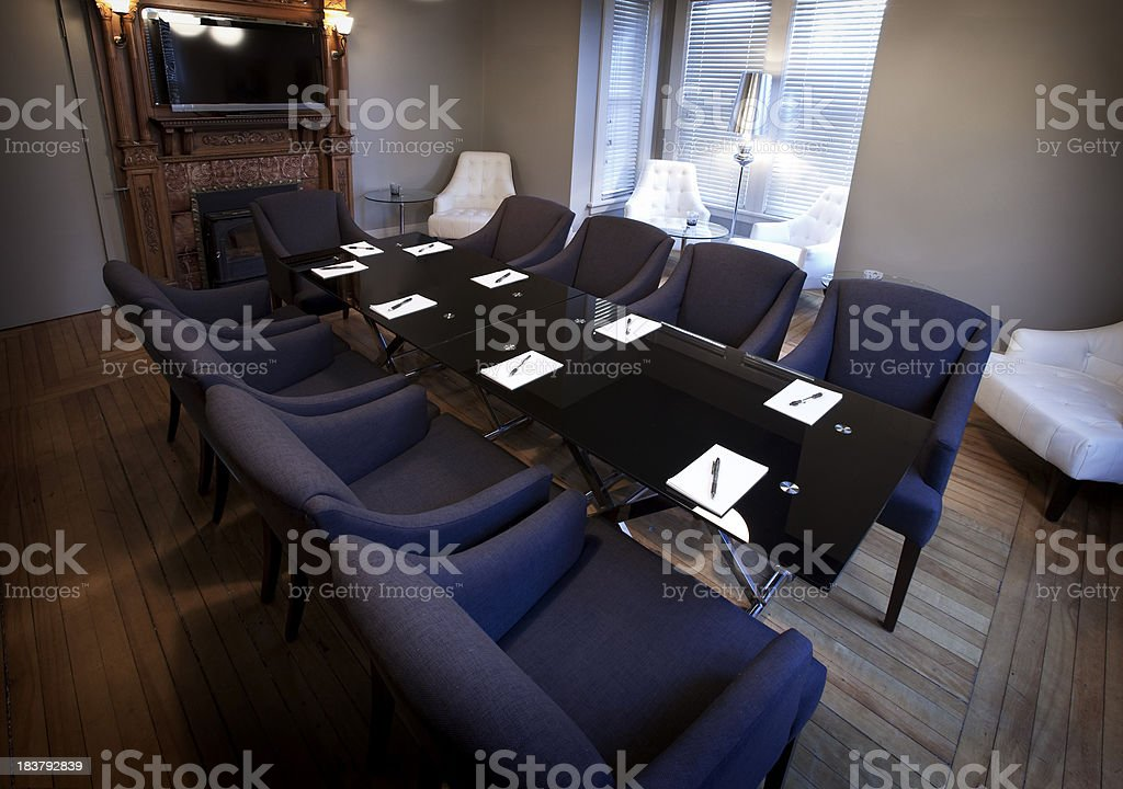 Comfy meeting room royalty-free stock photo