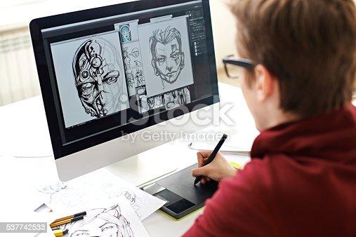 istock Comic book art 537742533