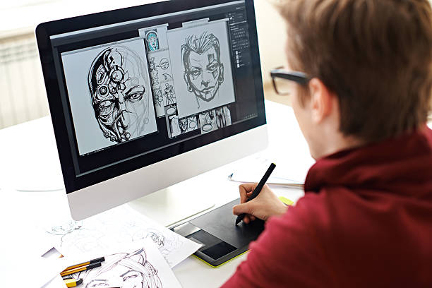 comic book art - 卡通 個照片及圖片檔