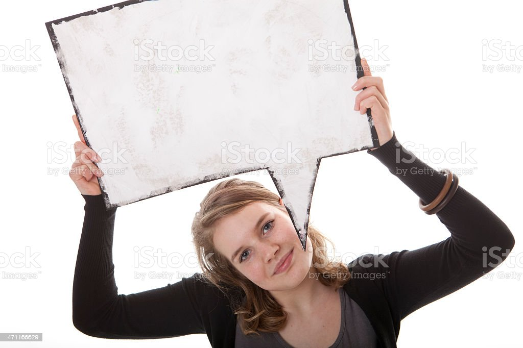 Comic world in a photo royalty-free stock photo