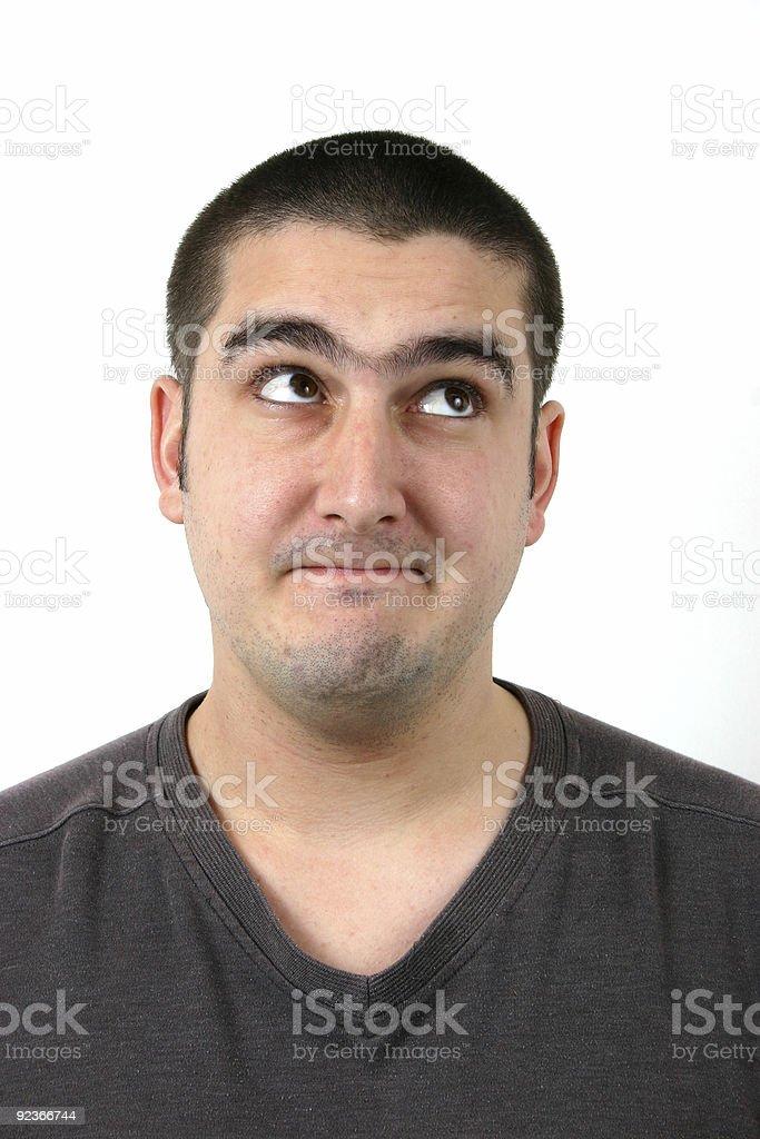 comical young man 7 royalty-free stock photo