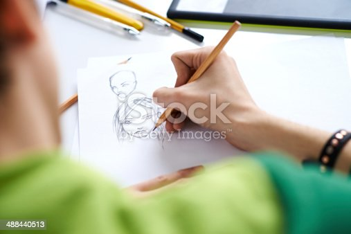 istock Comics sketch 488440513