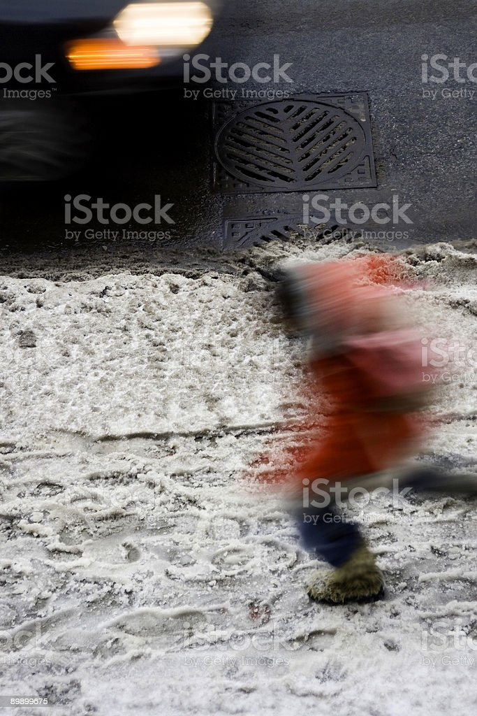 Coming and Going royalty-free stock photo