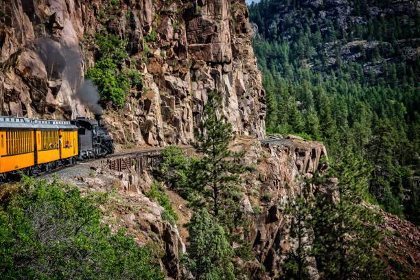 Coming Around the Mountain stock photo