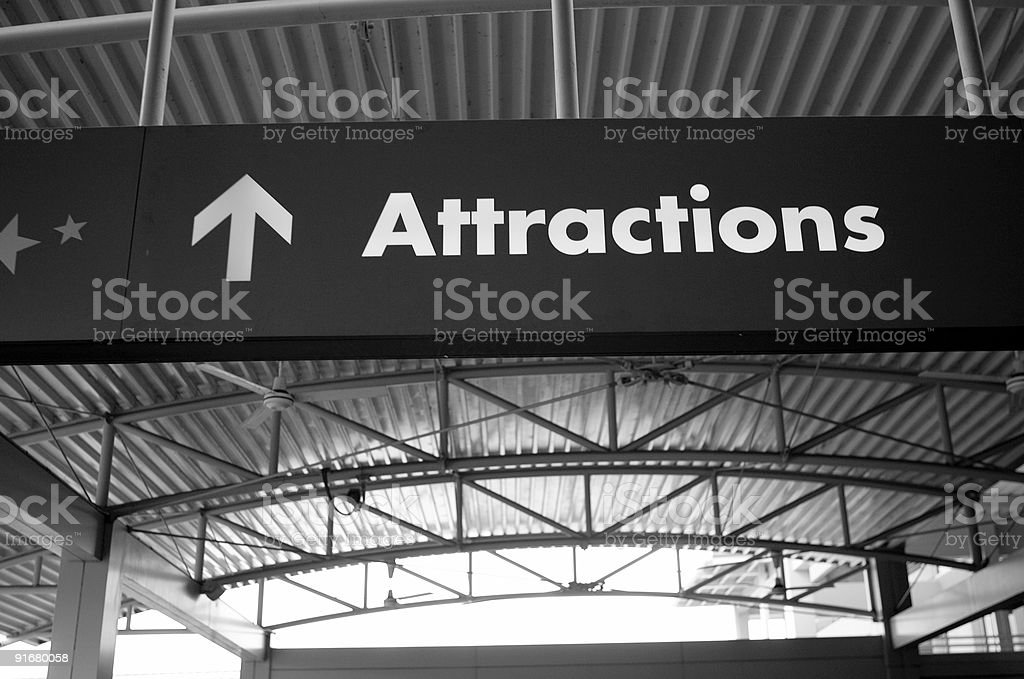 Coming Attractions royalty-free stock photo