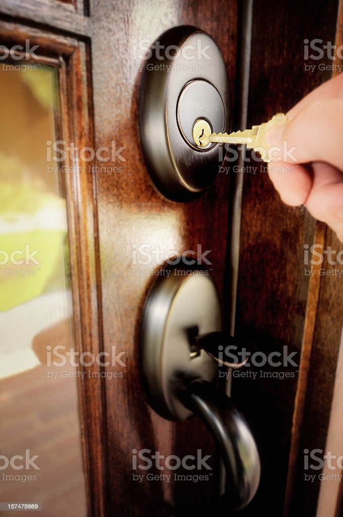 Coming Home royalty-free stock photo