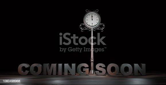istock coming soon 3d rendering 1060498968